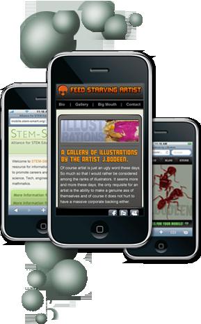 Order Mobile Web Design