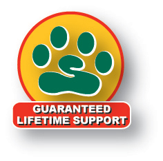 Order Bark Busters Guaranteed Lifetime Support