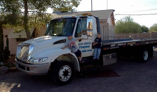 Order Towing Services