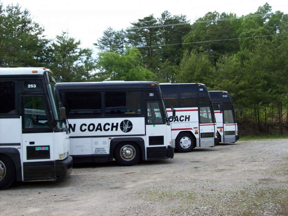 Order Casino bus transportation