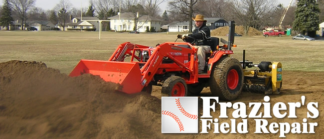 Order Adding Baseball Dirt To Your Field