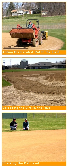 Order Frazier's Select Baseball Dirt™