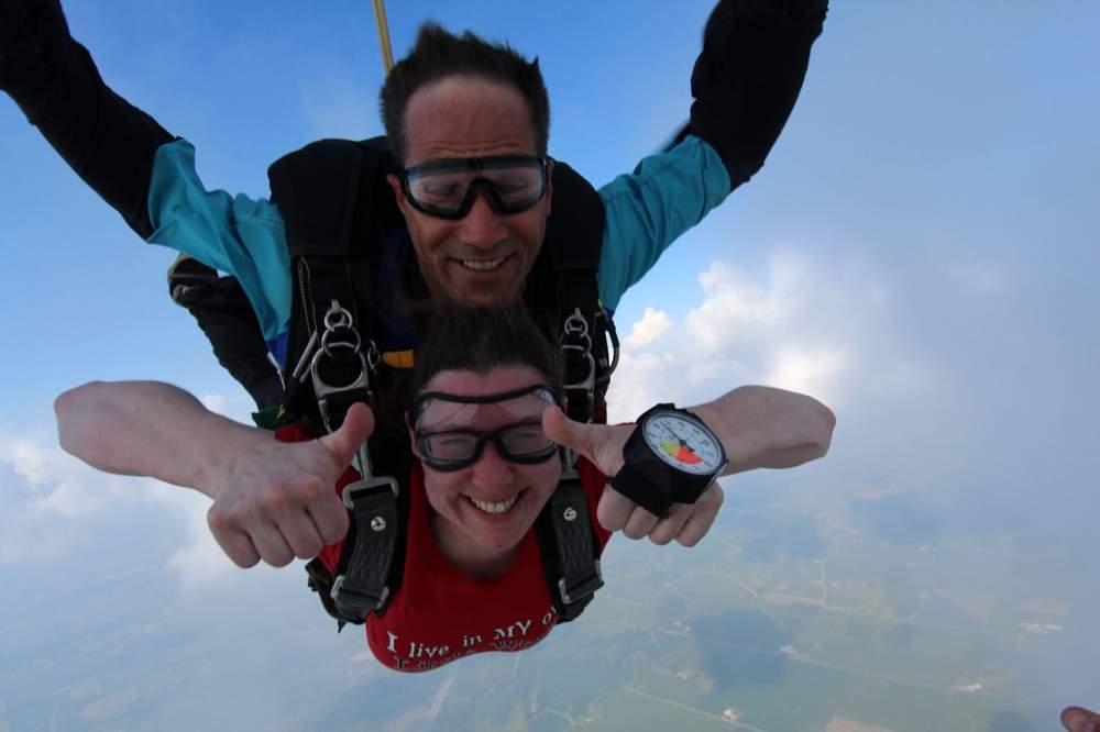 Order Tandem skydiving