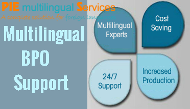 Order Multilingual outsourcing consultant to India