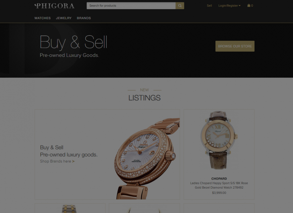 Order Co-signment luxury shop