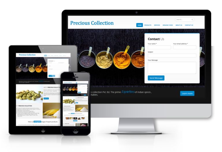 Order ICO Website Design