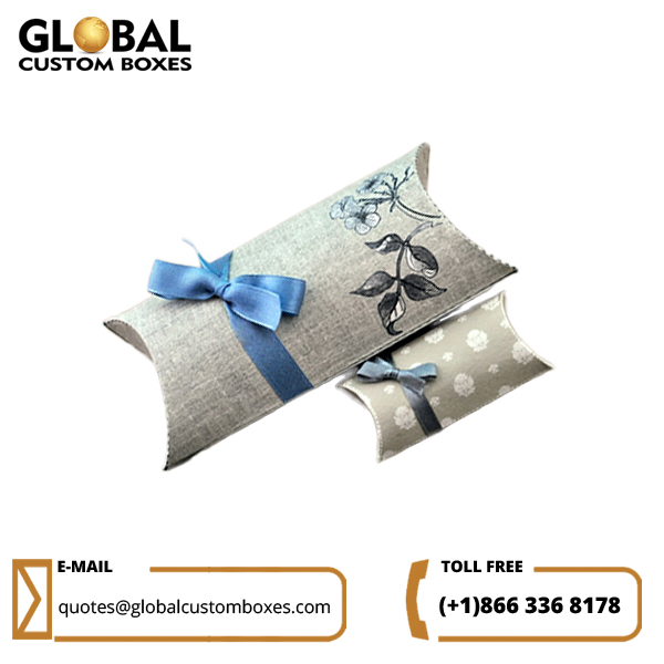 Order Custom Pillow Boxes