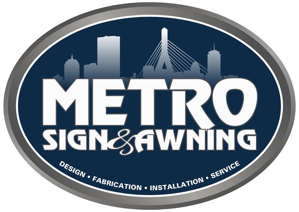 Order Exterior Signs Boston MA | Metro Sign and Awnings