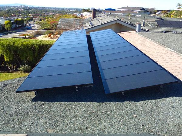 Order Solar panel installation,