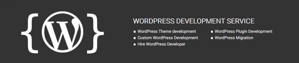 Order WordPress Development Service