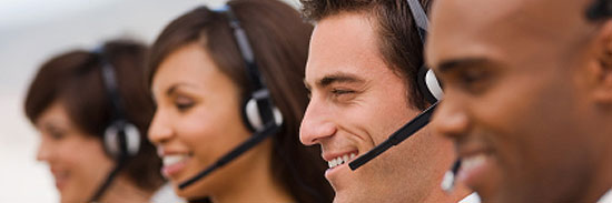 Order Commercial Call Center Services