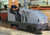 Industrial Floor Sweeping & Scrubbing