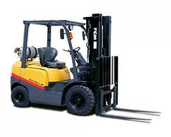 Four-Wheel Forklifts