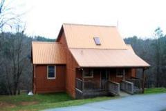 Copper Creek cabin on the  River