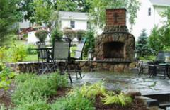 Exquisite Outdoor Kitchen & Fireplace