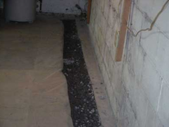 Adding a French Drain Services