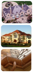 Tile Roofs, Copper Roofs