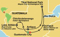 Guatemala with Tikal, Atitlan and Antigua Tour