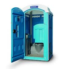 Clean, sanitary portable restrooms