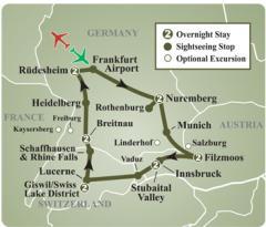 Germany, Austria & Switzerland Tours