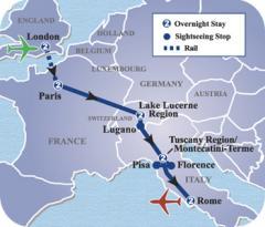 London, Paris & Rome Tours