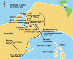 Panama Canal Cruise, Rainforests & Beaches Tours