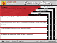 Company Survey program