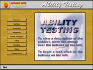 Ability Testing program