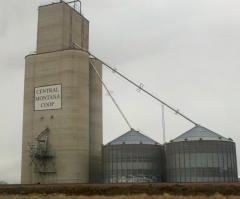 Storage annex for existing grain terminal