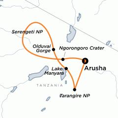 Discovery Adventures: Tanzania Wildlife Safari