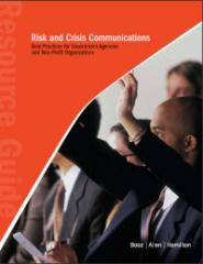 Risk and Crisis Communications for Government and