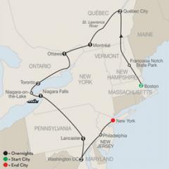 Eastern USA & Canada Discovery Tour
