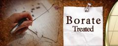 Borate Treated Wood