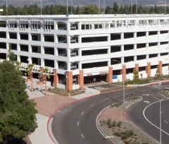 Cal State Fullerton Parking Structure #4 -