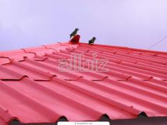 Insulated roof deck