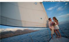 The Sunset Sailboat Wedding