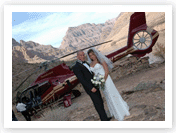Grand Canyon Floor Helicopter Wedding