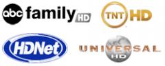 All HDTV programming