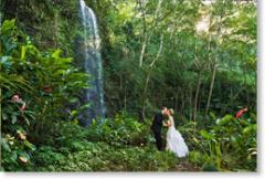 Kauai Waterfall & Waterway Garden Weddings