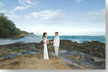 Kauai Weddings at Cliff Overlooks