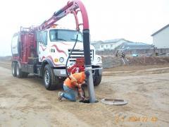 Hydrovac Pothole