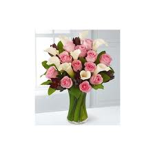 Fabled Beauty Bouquet - 17 Stems - Vase Included