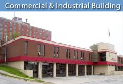 Commercial and industrial building