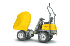 Four-wheel dumpers: payload < 5t