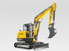 Compact Excavators > 6t Rental