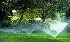 Water-Saving Sprinklers and Irrigation