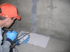 Cement Crack Repair for Poured Foundations