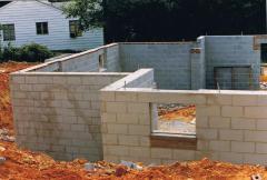 Waterproofing cement block foundations