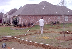 Underground Irrigation Sprinkler Installation