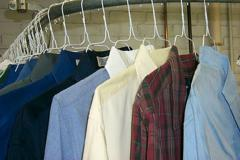 Shirts and dry cleaning